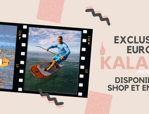 Exclusivité Europe : Les foils Kalama en shop !